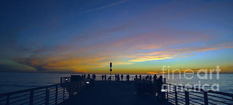 Ricardos Creations - Treasure Coast Florida Sunrise Seascape Pier B6