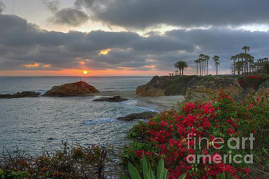 Treasure Island Beach Shoreline by Eddie Yerkish