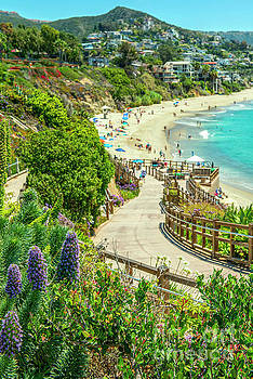 Treasure Island Walkway Laguna  by David Zanzinger