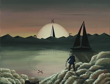 Treasure Path by Edwin Alverio