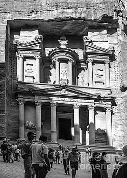 Treasury of Petra by Mae Wertz
