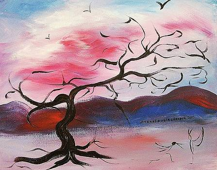 Suzanne  Marie Leclair - Tree and Birds