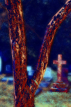Tree and Cross by Jill Tennison