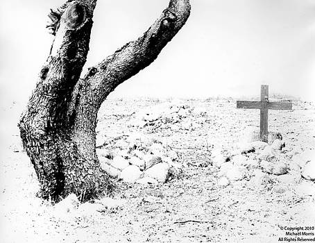 Tree and Cross by Michael Morris