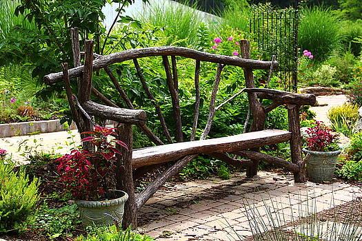 Allen Nice-Webb - Tree Branch Bench