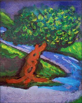 Tree By The River by Jennifer Bentrim