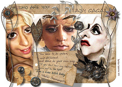 Larisa Isaeva - Tree faces of Lady Gaga