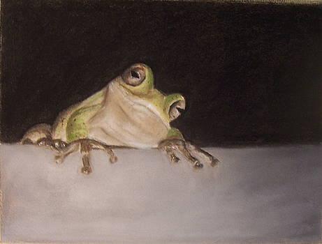 Tree Frog by Elizabeth Ellis
