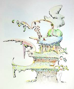 Tree House Condo Man by Dave Martsolf