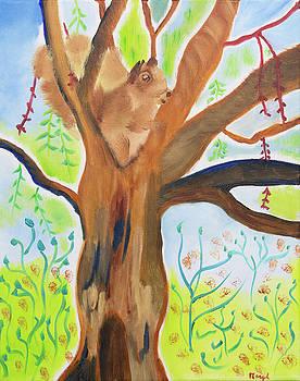 Morning Inspiration Treehouse by Meryl Goudey