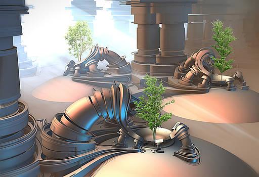 Tree Incubators by Hal Tenny