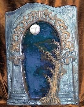 Tree Moon Gate by Jill Taylor