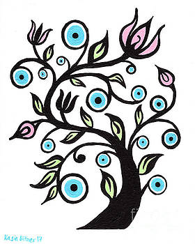 Tree of Eye by Kasia Bitner