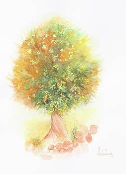 Tree of Happiness by Ashima Kaushik