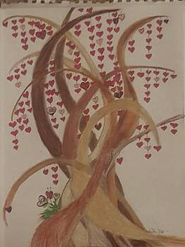 Tree Of Hearts by Cara Sullenger Carr