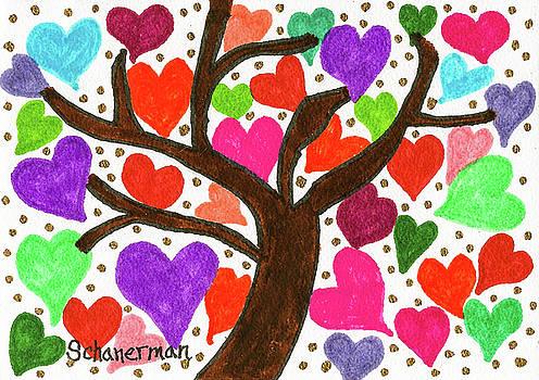 Tree of heARTs by Susan Schanerman