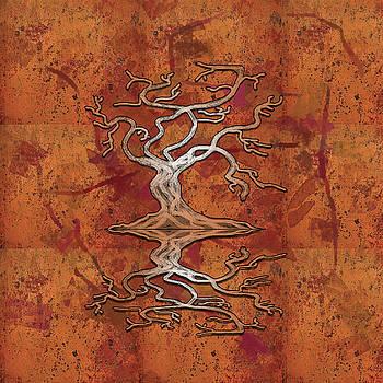 Tree of Life  - Digital Art by Richard Marks