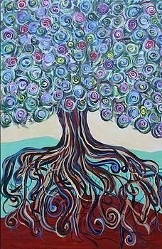 Tree Of Life-Spring by Gitta Brewster