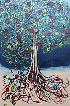 Tree Of Life - Summer by Gitta Brewster