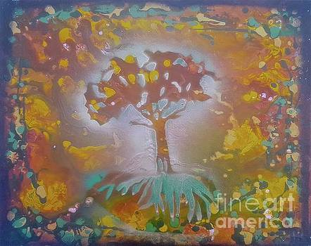 Tree of Light by Tony B Conscious
