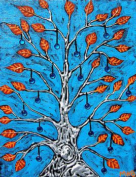 Tree of Sapphire Gems by Margaret  Blanchett