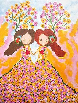 Tree spirits by Rakhee Krishna