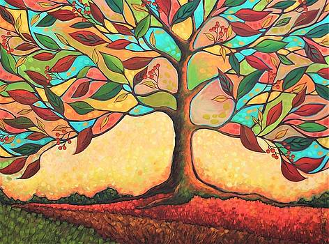 Tree Splendor 2 by Peggy Davis