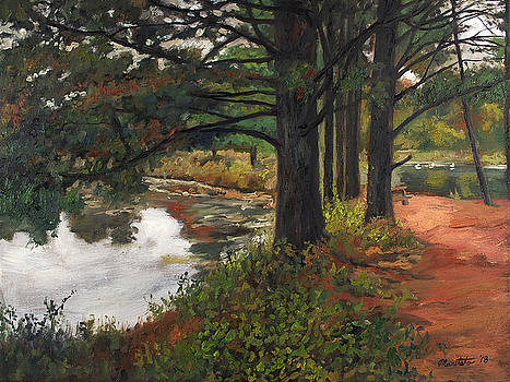 Trees at Shadow Lake by Mark Maritato