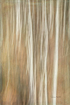 Trees Ethereal Thicket by Ramona Murdock