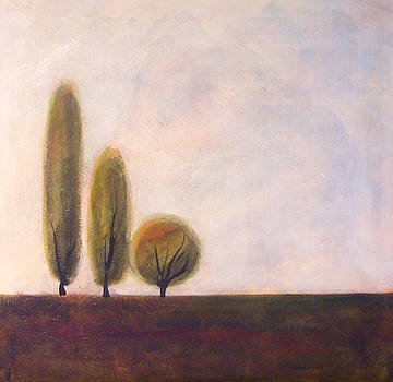 Trees of Tuscany 2 by Victoria Heryet