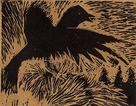 Treetop Crow by Diana Ludwig