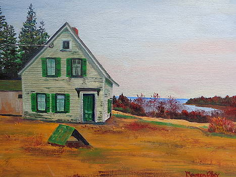 Trehaus Acadia Maine by Maureen Obey