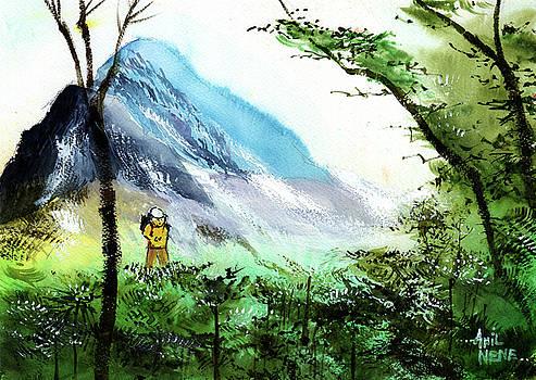 Trekking by Anil Nene