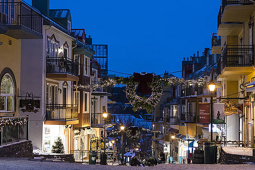 Tremblant Streets by Michael Santos