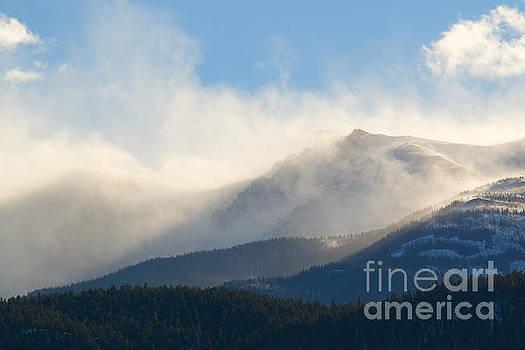 Steve Krull - Tremendous Wind Storm on Pikes Peak Colorado