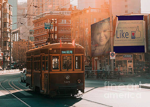 Trending Now Election 2020 Trolly by Catherine Lott