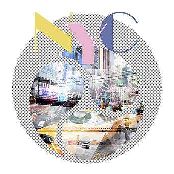 TRENDY DESIGN New York City Geometric Mix No 1 by Melanie Viola