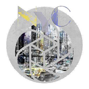 TRENDY DESIGN New York City Geometric Mix No 4 by Melanie Viola