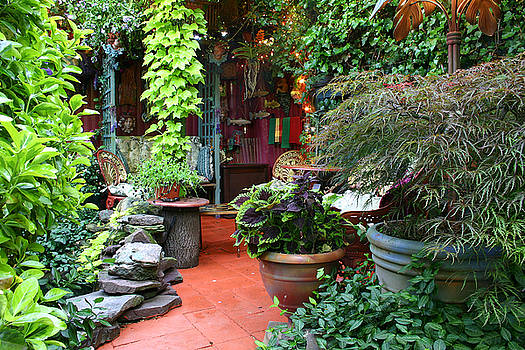 Trenton House Patio by Kelly S Andrews