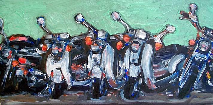Tres Amici by Sheila Tajima