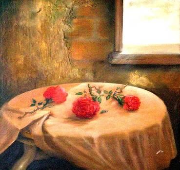 Tres Rosas by Jesus Alberto Arbelaez Arce