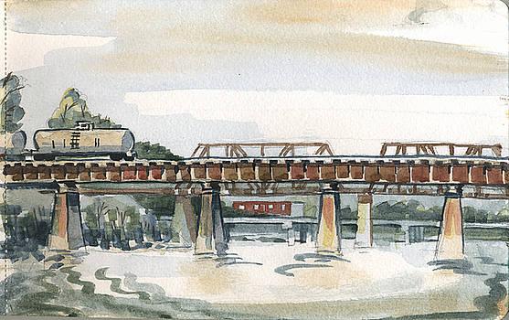 Trestle Bridge by Ashley Lathe
