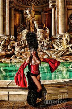 Trevi Fountain Beauty by Blake Richards