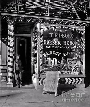 Lionel F Stevenson - Tri-boro Barber School