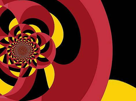 Tri-Color Swing by Mehdi Mehrvarz