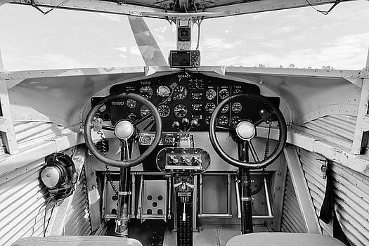Tri-Motor Cockpit - 2017 Christopher Buff, www.Aviationbuff.com by Chris Buff