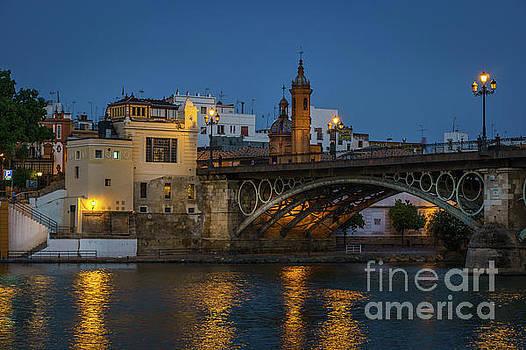 Triana Bridge Seville Spain by Pablo Avanzini
