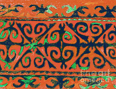 Tribal Art. Central Asia by Anna Sofia