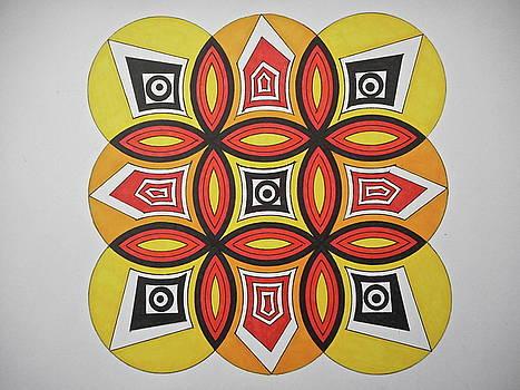 Tribal art by Jesus Nicolas Castanon