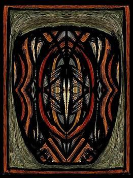Tribal Mask by Matt Lennon